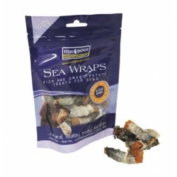 Fis4Dogs Sea Wraps Sweet Potato - przysmak dla psa
