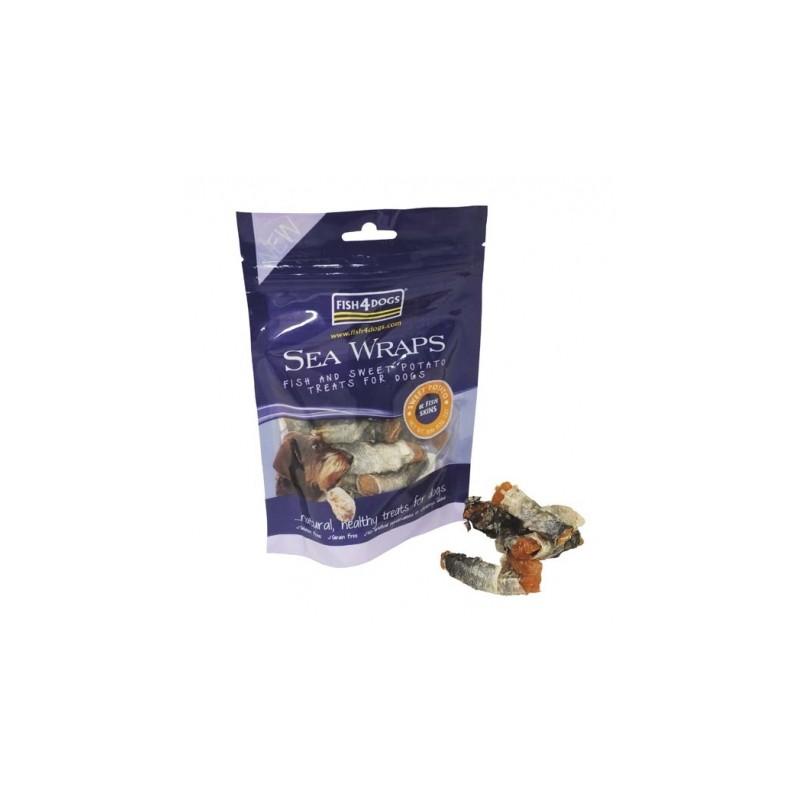 Fis4Dogs Sea Wraps Sweet Potato - przysmak dla psa