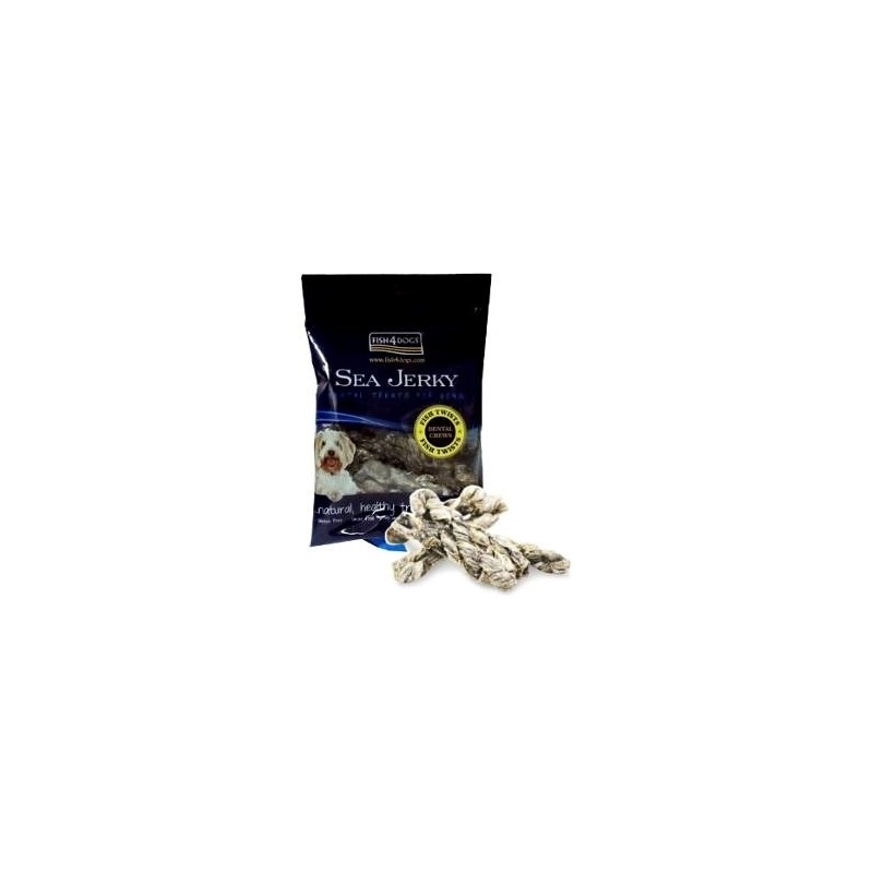 Fish4Dogs Sea Jerky Fish Twists - przysmak dla psa