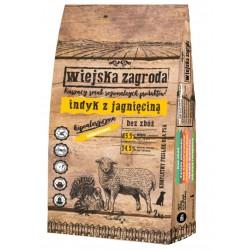 Wiejska Zagroda Indyk z jagnięciną - Karma sucha dla psa + PUSZKA GRATIS
