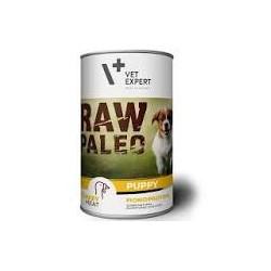 Zestaw Raw Paleo Puppy 12 x 400g MIX smaków