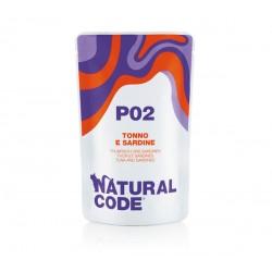 Natural Code P02 Tuńczyk Sardynki - saszetki dla kota 70 g