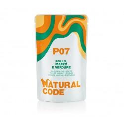Natural Code P07 kurczak wołowina i warzywa - saszetki dla kota 70 g