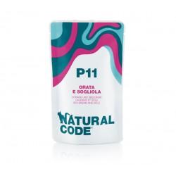 Natural Code P11 dorada i sola - saszetki dla kota 70 g
