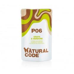 Natural Code P06 dorada z warzywami - saszetki dla kota 70 g