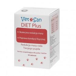Vetosan Diet Plus - Preparat redukujący masę ciała dla psa i kota