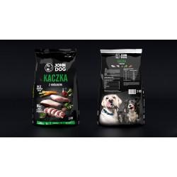 John Dog Kaczka z królikiem - Karma sucha dla psów małych ras