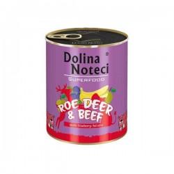 Dolina Noteci Premium Superfood Sarna i wołowina - karma mokra dla psa