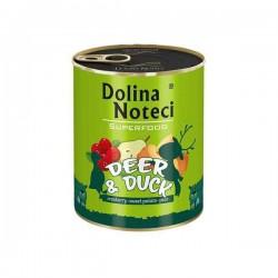 Dolina Noteci Premium Superfood Jeleń kaczka - karma mokra dla psa