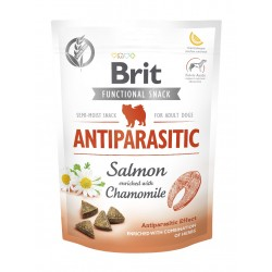 BRIT CARE DOG FUNCTIONAL SNACK ANTIPARASITIC  150 g - przysmak dla psa