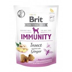BRIT CARE DOG FUNCTIONAL SNACK IMMUNITY INSECT 150 g - przysmak dla psa