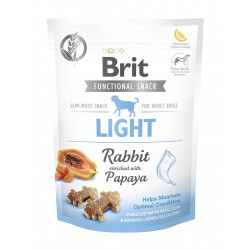 BRIT CARE DOG FUNCTIONAL SNACK LIGHT RABBIT 150 g - przysmak dla psa