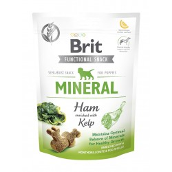 BRIT CARE DOG FUNCTIONAL SNACK MINERAL HAM PUPPY 150 g - przysmak dla psa