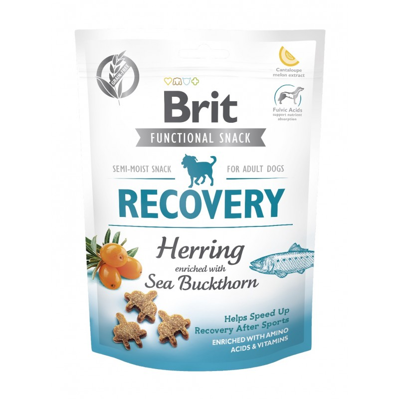BRIT CARE DOG FUNCTIONAL SNACK RECOVERY HERRING 150 g - przysmak dla psa