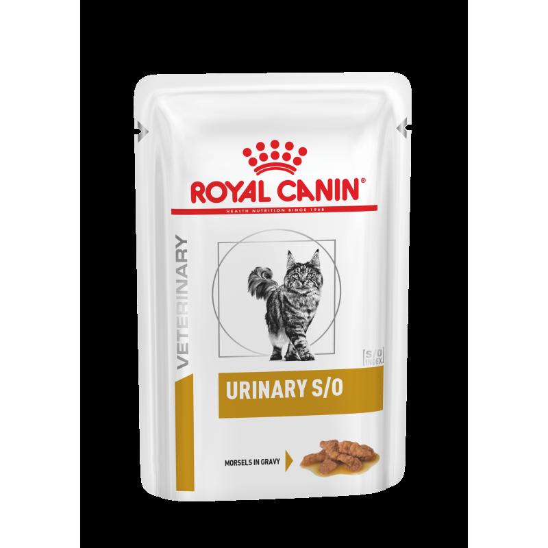 """Royal Canin Urinary """"cząstki w sosie"""" 12 x 85 g saszetka dla kota"""