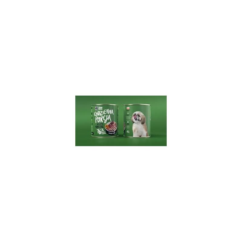 John Dog Codzienna Porcja Bogata w kaczkę - karma mokra dla psa