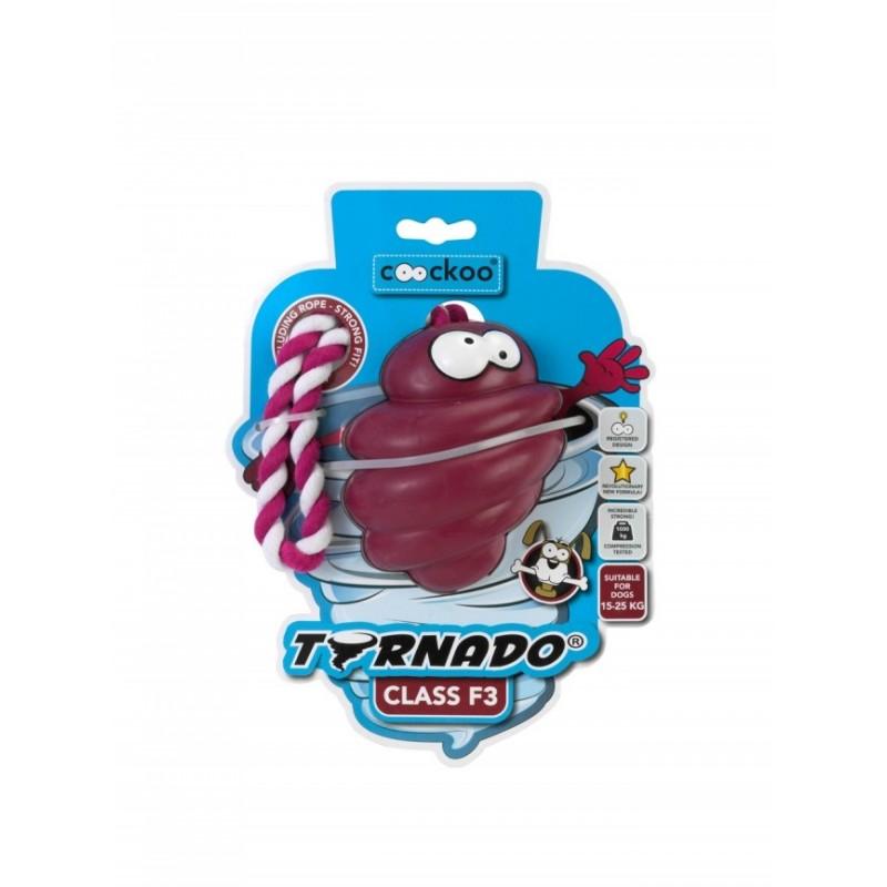 COOCKOO ZABAWKA TORNADO+LINA BORDO F3 - zabawka dla psa