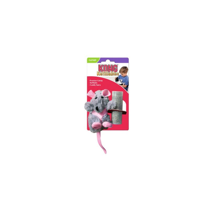 Kong Szczur z kocimiętką - zabawka dla psa