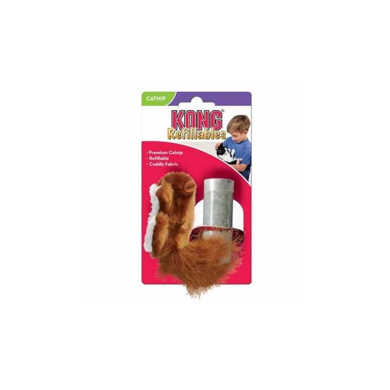 KONG WIEWIÓRKA Z KOCIMIĘTKĄ - zabawka dla kota