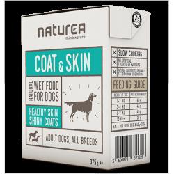 Naturea Zdrowa SKÓRA I SIERŚĆ - karma mokra dla psów i szczeniąt z dzikiem