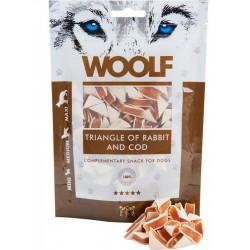 WOOLF Triangle of Rabbit - przysmak dla psa 100 g