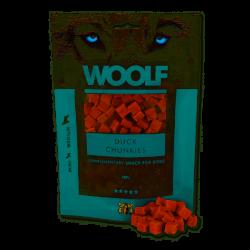 WOOLF Duck Chunkies - przysmak dla psa 100 g