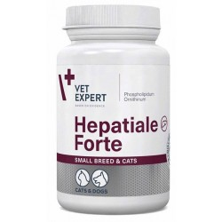 HEPATIALE FORTE SMALL BREED & CATS 40 KAPS