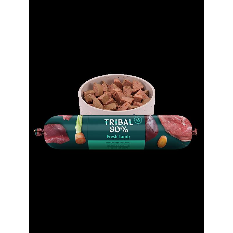 Tribal 80 % świeżej jagnięciny - karma mokra dla psa