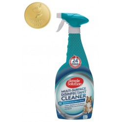 Simple Solution MULTI-SURFACE CLEANER DEZYNFEKCJA 750ml - Płyn do usuwania plam moczu 750ml