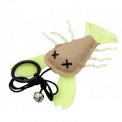 Barry King Fluorescencyjny homar zabawka dla kota