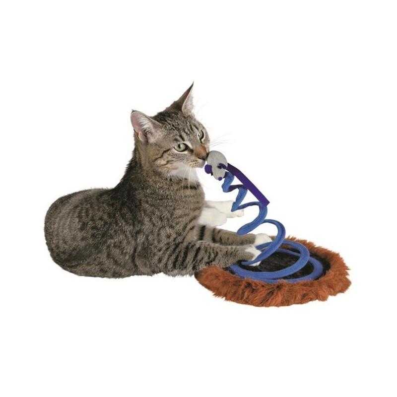 TRIXIE, zabawka dla kota MYSZ NA SPRĘŻYNIE 20x25cm