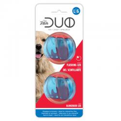 Zeus DUOBALL Piłki mrugające LED dla psa 2 szt
