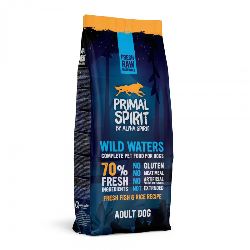 Primal Spirit 70% Wild Waters Karma sucha dla psa