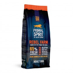 Primal Spirit 65% Rebel Farm Karma sucha dla psa