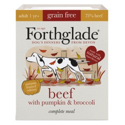 Forthglade - karma mokra dla psa / Wołowina z dynią i brokułami
