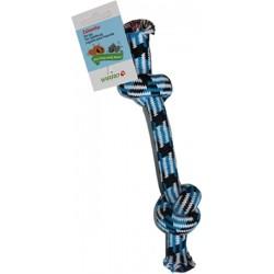Yarro zabawka dla psa sznur 29 cm niebieski