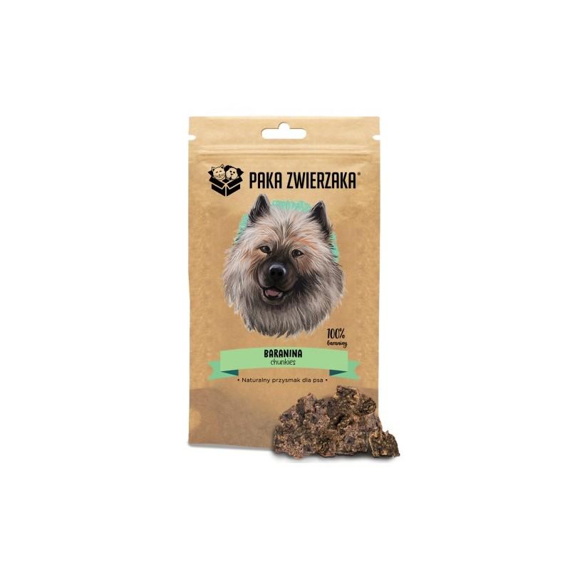 Paka Zwierzaka - Chunkies Baranina - przysmak dla psa