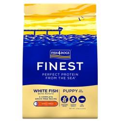 Fish4Dog Finest White Fish Puppy Duże Rasy