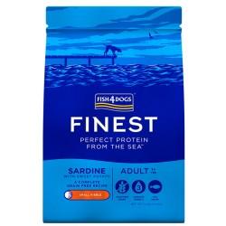 Fish4Dog Finest Sardine Adult Duże Rasy