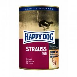 Happy Dog 100% Struś (Strauss Pur) - mięso w puszkach dla psów