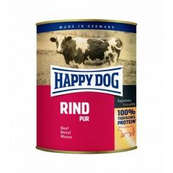 Happy Dog 100% Wołowina (Rind Pur) - mięso w puszkach dla psów