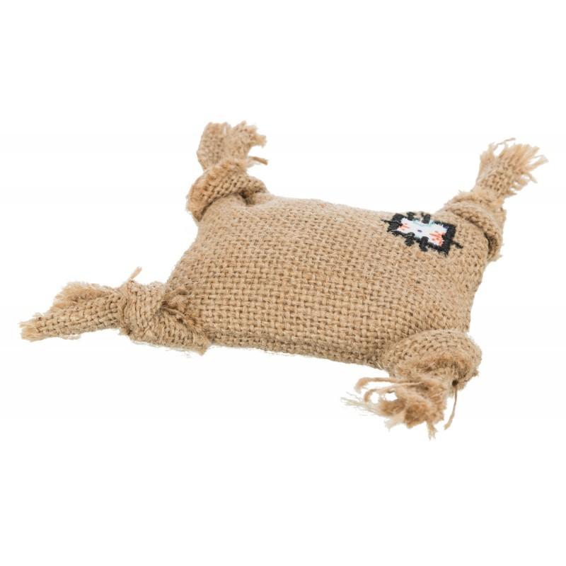 TRIXIE Poduszka, juta, 10 cm Zabawka dla kota