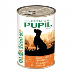 PUPIL Premium bogata w indyka z jagnięciną 415 g