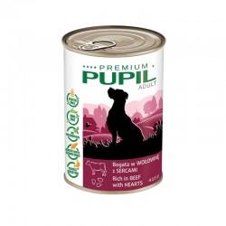 PUPIL Premium bogata w wołowinę z sercami 415 g