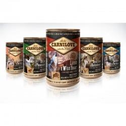 Carnilove puszka pakiet 12 x 400g - karma mokra dla psa