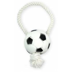PET NOVA VIN ROPE-SOCCER BALL 28cm