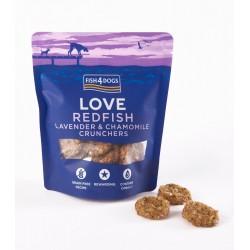 Fish4Dogs Love Redfish przysmak dla psa 75g