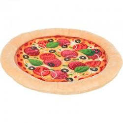 TRIXIE Pizza zabawka dla psa plusz 26 cm szeleszcząca