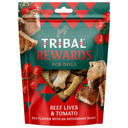 TRIBAL Rewards Wołowina i Pomidor 125g - Ciastka dla psa domowej produkcji
