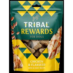 TRIBAL Rewards Kurczak i Siemię Lniane 125g - Ciastka dla psa domowej produkcji